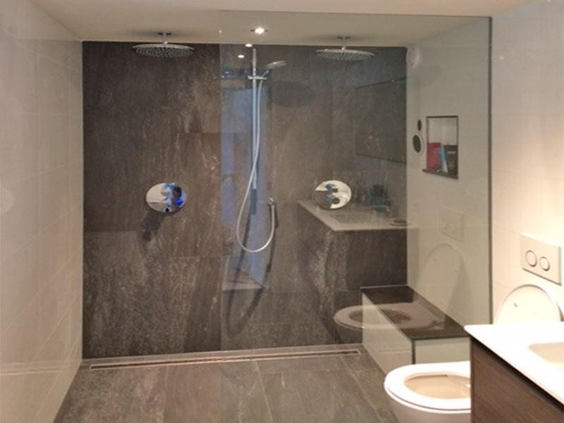 verbouw van een garage tot slaapkamer met badkamer - Duin Bouwt
